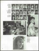 1992 Keokuk High School Yearbook Page 54 & 55