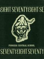 1978 Yearbook Pioneer High School