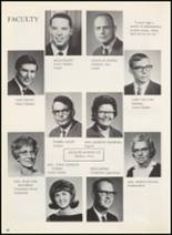 1967 Erick High School Yearbook Page 14 & 15