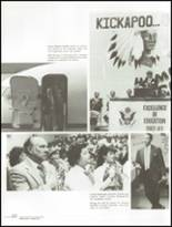 1984 Kickapoo High School Yearbook Page 26 & 27