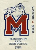1984 Yearbook McKeesport High School