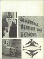 1971 Maryvale High School Yearbook Page 10 & 11
