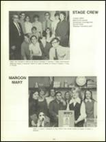 1971 Maryvale High School Yearbook Page 154 & 155