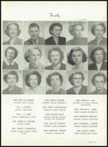 1953 Easley High School Yearbook Page 10 & 11