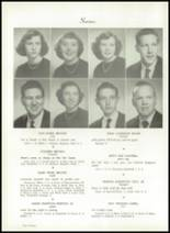 1953 Easley High School Yearbook Page 20 & 21