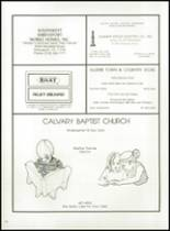 1982 Calvary Baptist Academy Yearbook Page 142 & 143
