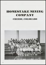 1984 Creede High School Yearbook Page 48 & 49