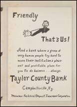 1948 Taylor County High School Yearbook Page 94 & 95