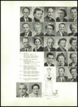 1953 Corning Free Academy Yearbook Page 14 & 15