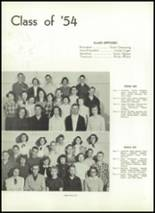 1953 Corning Free Academy Yearbook Page 40 & 41