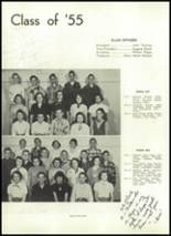 1953 Corning Free Academy Yearbook Page 42 & 43