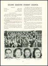 1939 Westport High School Yearbook Page 24 & 25