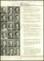 1939 Westport High School Yearbook Page 30 & 31