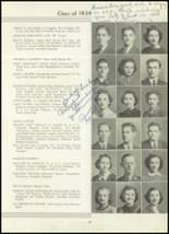 1939 Westport High School Yearbook Page 32 & 33