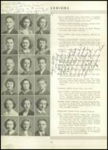 1939 Westport High School Yearbook Page 36 & 37