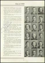 1939 Westport High School Yearbook Page 40 & 41