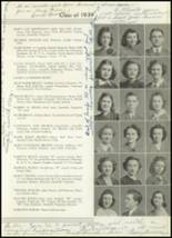 1939 Westport High School Yearbook Page 42 & 43