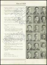 1939 Westport High School Yearbook Page 44 & 45