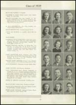 1939 Westport High School Yearbook Page 46 & 47