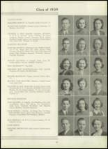 1939 Westport High School Yearbook Page 48 & 49
