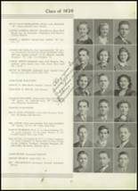 1939 Westport High School Yearbook Page 52 & 53