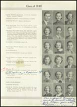 1939 Westport High School Yearbook Page 54 & 55
