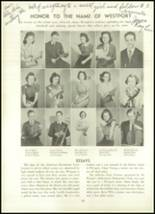 1939 Westport High School Yearbook Page 102 & 103