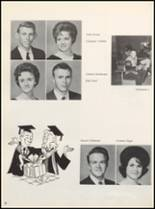 1964 Clyde High School Yearbook Page 20 & 21