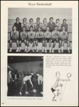 1964 Clyde High School Yearbook Page 112 & 113