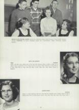 1958 Millville Area High School Yearbook Page 36 & 37