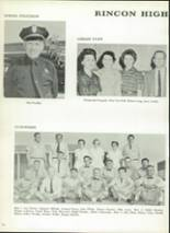 1961 Rincon High School Yearbook Page 14 & 15