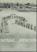 1961 Rincon High School Yearbook Page 154 & 155