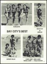 1979 Bay City High School Yearbook Page 182 & 183