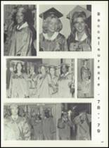 1979 Bay City High School Yearbook Page 212 & 213