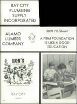 1979 Bay City High School Yearbook Page 254 & 255