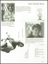 1988 St. Albans High School Yearbook Page 70 & 71