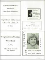 1988 St. Albans High School Yearbook Page 216 & 217