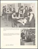 1966 Sacred Heart High School Yearbook Page 34 & 35
