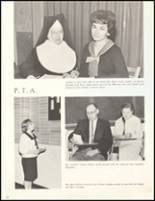 1966 Sacred Heart High School Yearbook Page 40 & 41