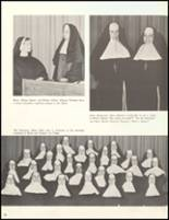 1966 Sacred Heart High School Yearbook Page 54 & 55
