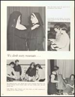 1966 Sacred Heart High School Yearbook Page 56 & 57