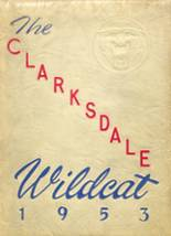 1953 Yearbook Clarksdale High School