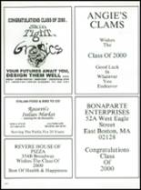 2000 Revere High School Yearbook Page 174 & 175