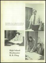 1973 Evadale High School Yearbook Page 16 & 17