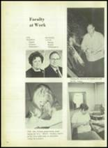 1973 Evadale High School Yearbook Page 18 & 19