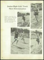 1973 Evadale High School Yearbook Page 92 & 93