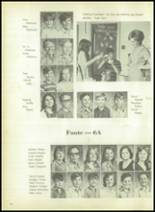 1973 Evadale High School Yearbook Page 100 & 101