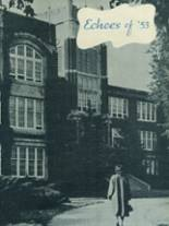 1953 Yearbook East High School