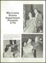 1973 Mira Loma High School Yearbook Page 136 & 137