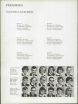 1966 St. Mary Central High School Yearbook Page 86 & 87